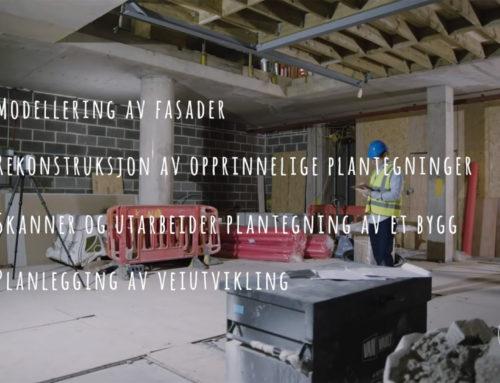 Laget video om 3D skanning